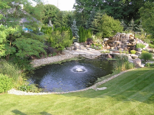 Green acres landscaping supplies serving the metro for Design of stormwater ponds